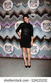 PASADENA, CA - JAN 8:  Daniela Bobadilla attends the FOX TV 2013 TCA Winter Press Tour at Langham Huntington Hotel on January 8, 2013 in Pasadena, CA