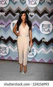 PASADENA, CA - JAN 8:  Naya Rivera attends the FOX TV 2013 TCA Winter Press Tour at Langham Huntington Hotel on January 8, 2013 in Pasadena, CA
