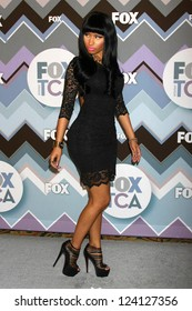 PASADENA, CA - JAN 8:  Nicki Mionaj attends the FOX TV 2013 TCA Winter Press Tour at Langham Huntington Hotel on January 8, 2013 in Pasadena, CA