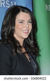 """PASADENA, CA - JANUARY 13, 2011: Lauren Graham - star of """"Parenthood"""" - at the NBC Universal Winter 2011 Press Tour at the Langham Huntington Hotel, Pasadena. January 13, 2011  Pasadena, CA"""