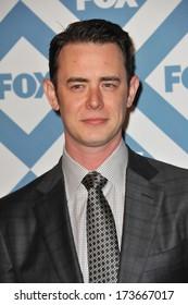 PASADENA, CA - JANUARY 13, 2014: Colin Hanks at the Fox TCA All-Star Party at the Langham Huntington Hotel, Pasadena.