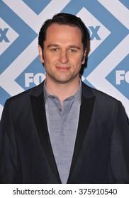 PASADENA, CA - JANUARY 13, 2014: Matthew Rhys at the Fox TCA All-Star Party at the Langham Huntington Hotel, Pasadena.