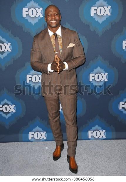 PASADENA, CA - JANUARY 17, 2015: Terry Crews at the Fox Winter TCA 2015 All-Star Party at the Langham Huntington Hotel, Pasadena.