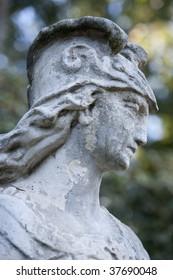 PASADENA, CA - JANUARY 18:  A statue of the mythological Perseus at the Huntington Library sculpture garden on January 18, 2009 in Pasadena, CA.