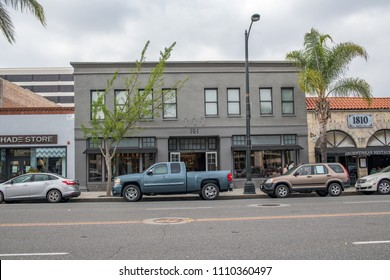 Pasadena, CA: May 20, 2018: RH store in the Pasadena Old Town district.  RH was formerly known as Restoration Hardware.