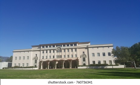 Pasadena, CA - November 22, 2017: Beckman Institute on California Institute of Technology (Caltech) campus. Beckman Institute is a research center for chemical and biological sciences.