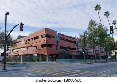 PASADENA, CA, USA - JANUARY 13, 2019: a view of the Cahill Center for Astronomy and Astrophysics at the California Institute of Technology.