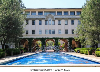 Pasadena, CA / USA - May 24 2011: Beckman Institute at California Institute of Technology (Caltech)