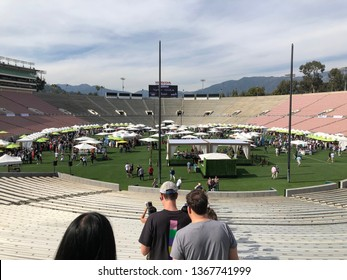 Pasadena, California / United States - 2019-04-07 : Masters of Taste Entry within the Rose Bowl
