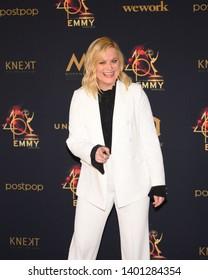 Pasadena, CA/USA - May 5, 2019: Amy Poehler attends the 2019 Daytime Emmy Awards.