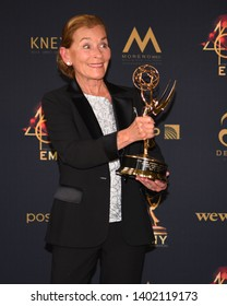 Pasadena, CA/USA - May 5, 2019: Judge Judy Sheindlin attends the 2019 Daytime Emmy Awards.