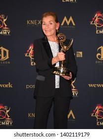 Pasadena, CA/USA - May 5, 2019: Judge Judy Sheindlin attends the 2019 Daytime Emmy Awards.