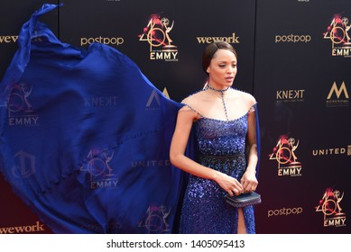 Pasadena, CA/USA - May 5, 2019: Sal Stowers attends the 2019 Daytime Emmy Awards.