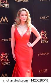 Pasadena, CA/USA - May 5, 2019: Jennifer Gareis attends the 2019 Daytime Emmy Awards.