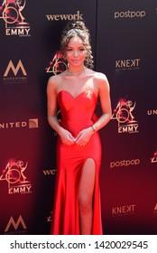 Pasadena, CA/USA - May 5, 2019: Lexie Stevenson attends the 2019 Daytime Emmy Awards.