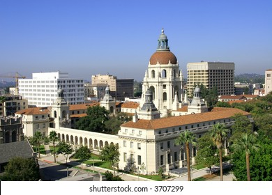 Pasadena City Hall - listed on the National Register of Historic Places.