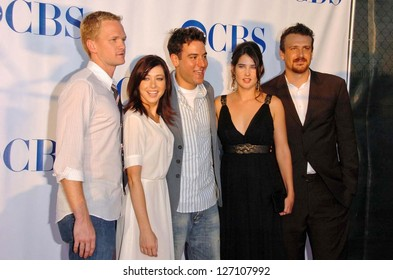 "PASADENA - JULY 15: Cast of ""How I Met Your Mother"" at CBS's TCA Press Tour at The Rose Bowl on July 15, 2006 in Pasadena, CA."