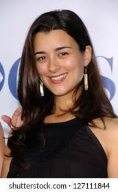 PASADENA - JULY 15: Cote de Pablo at CBS's TCA Press Tour at The Rose Bowl on July 15, 2006 in Pasadena, CA.