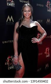 PASADENA - May 5: Nia Sioux at the 46th Daytime Emmy Awards Gala at the Pasadena Civic Center on May 5, 2019 in Pasadena, California