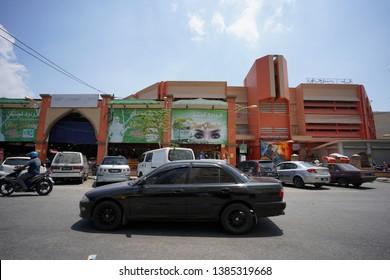 Pasar Siti Khadijah,Kelantan.Malaysia. Taken on 20 April 2019. Outdoor view for Siti Khadijah Traditional Market.