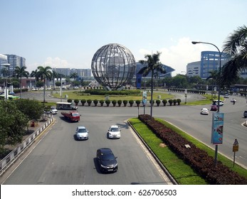 PASAY CITY, PHILIPPINES - APRIL 20, 2017: The SM Mall Of Asia or SM MOA is considered to be the third largest mall in the world.