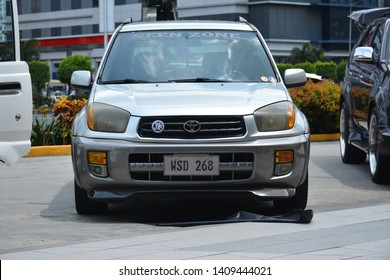 PASAY, PH - MAY 26: Toyota RAV 4 sports utility vehicle at Toyota car fest on May 26, 2019 in Pasay, Philippines.