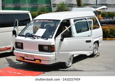PASAY, PH - MAY 26: Toyota Lite Ace mini van at Toyota car fest on May 26, 2019 in Pasay, Philippines.