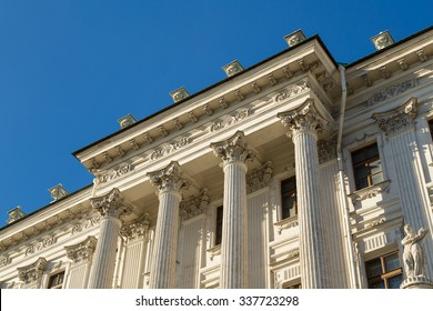 Pashkov House - one of the most famous classic buildings in Moscow, currently owned by the Russian State Library