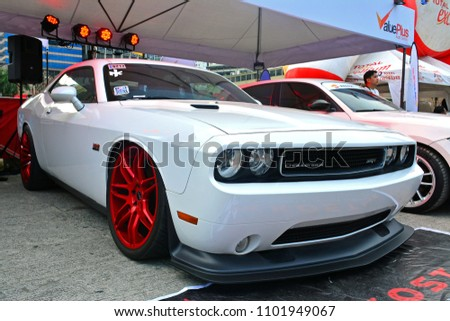 pasig ph may 13 dodge challenger stock photo (edit now) 1101949067