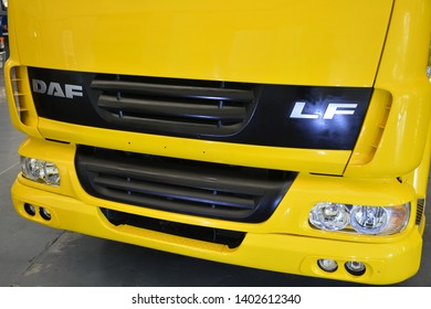 PASIG, PH - MAY 18: Daf LF bare chassis truck at First U-Trip Rebuilt Truck Show on May 18, 2019 in Pasig, Philippines.