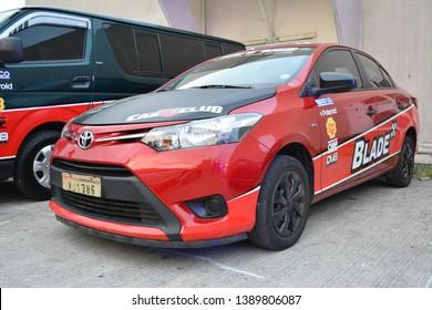 PASIG, PH - MAY 5: Toyota Vios at Hot Import Nights Manila 8 on May 5, 2019 in Pasig, Philippines.