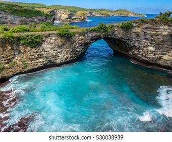 Pasih Uug (Broken Beach) Nusa Penida