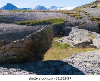 pass of  Croix de Fer in  Savoie in France