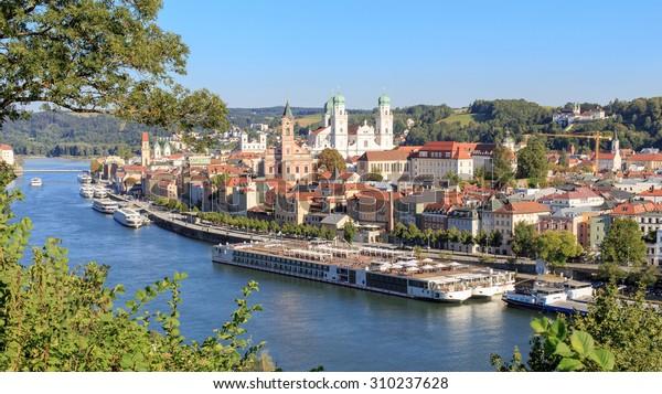 Passau auf der Donau