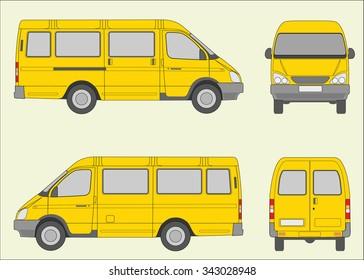 Passenger bus, Russian transportation