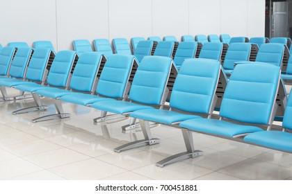 Passenger seat for waiting at gate