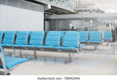 Passenger seat for waiting at gate