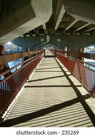 Passengers bridge in Calgary,canada.