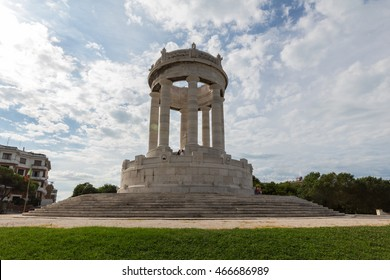 The Passetto Monument, Ancona, Italy