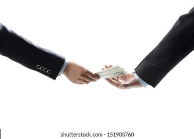 Passing the money