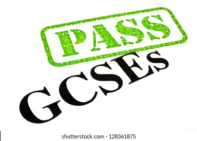 Passing your GCSE examinations.