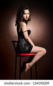 Passion model in dark