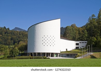 The Passion Play House, built in 1957 in Erl in Tirol, serves as the venue of the Passion Play every six years, which goes back to a vow of the inhabitants in a terrible plague