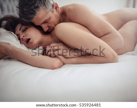 Couples in love having sex