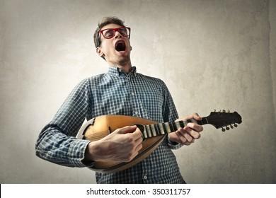 Passionate singer