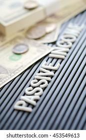 Passive Income concept background