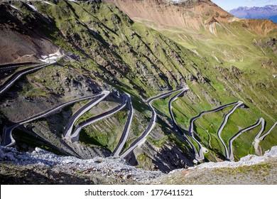 Passo Stelvio, Italy, Alps, Mountains