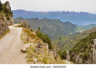 Passo Tremalzo, Lago di Garda, Italy, 7th May 2017