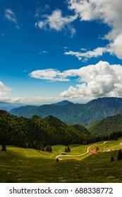 Passo Tremalzo,Trails to Passo Tremalzo, Lago di Garda region, Italy, Italian Dolomites-panoramic views from the Tremalzo