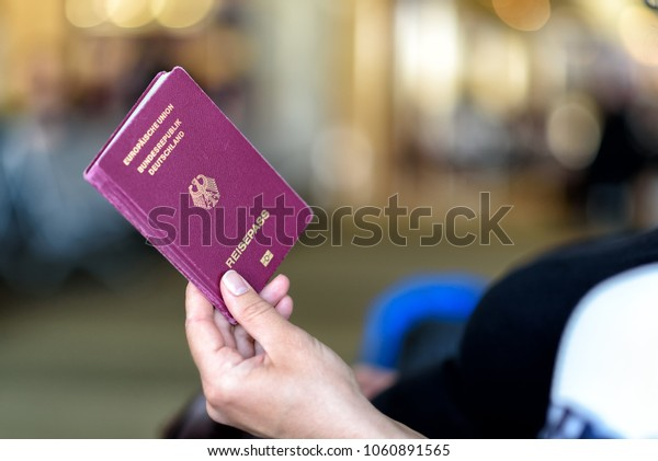 passport control at the airport